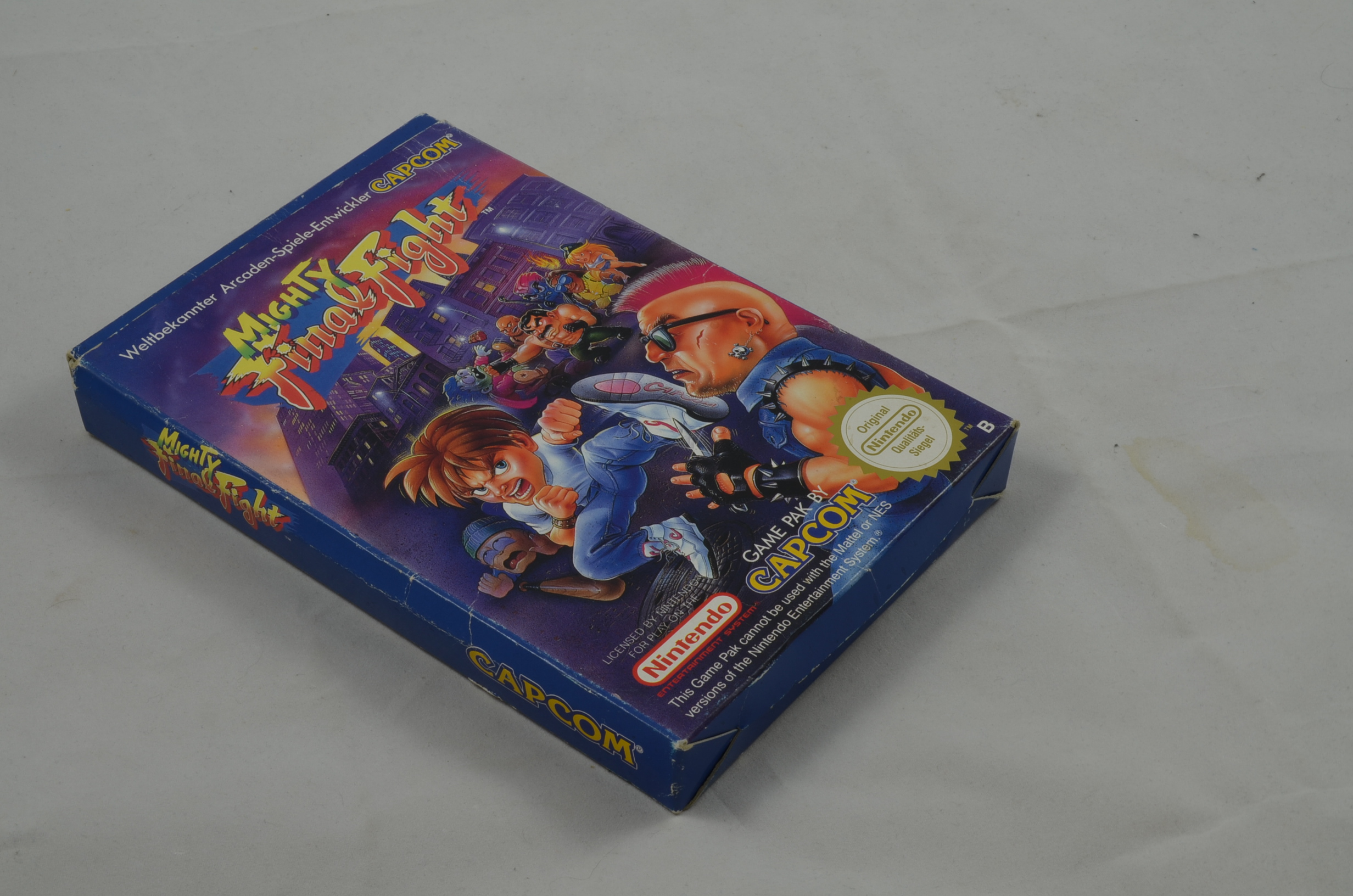 Produktbild von Mighty Final Fight NES Spiel CIB (gut)