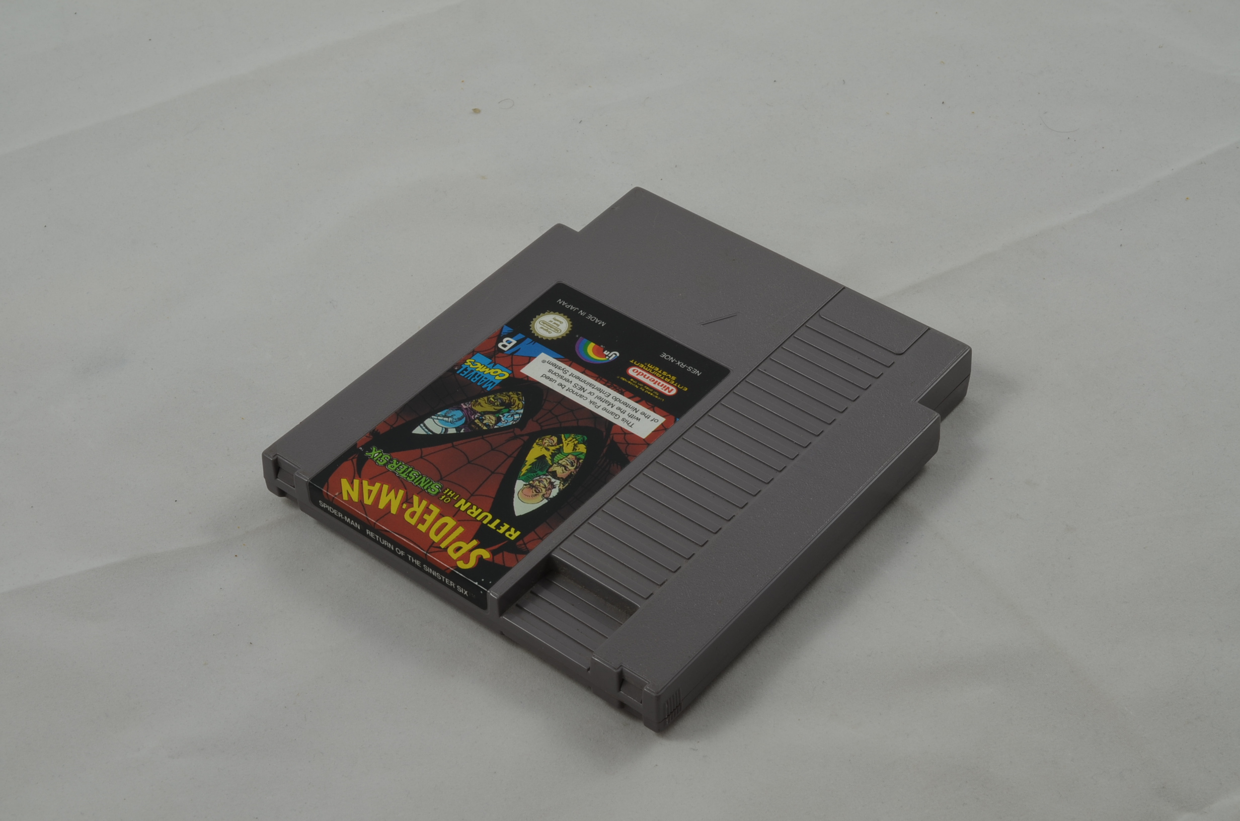 Produktbild von Spider Man Return of the Sinister Six NES Spiel