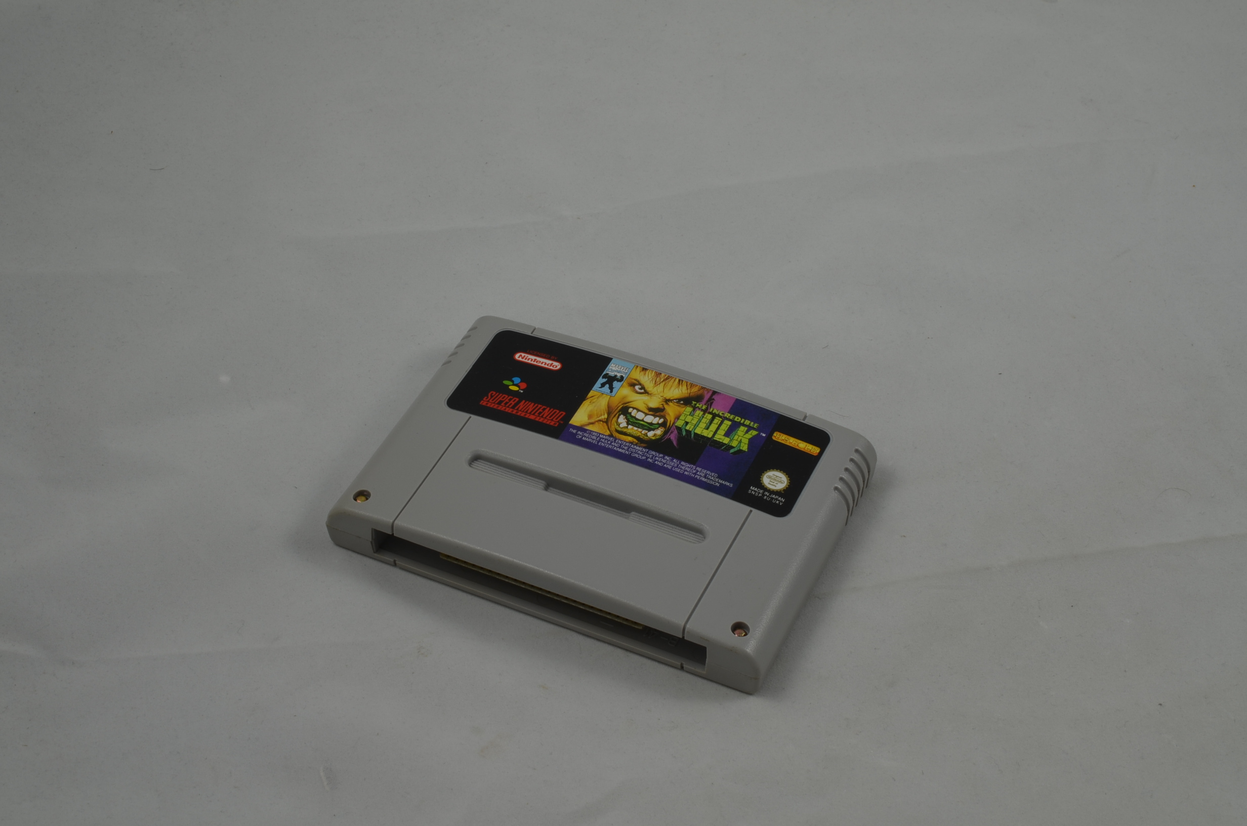 Produktbild von The Incredible Hulk SNES Spiel
