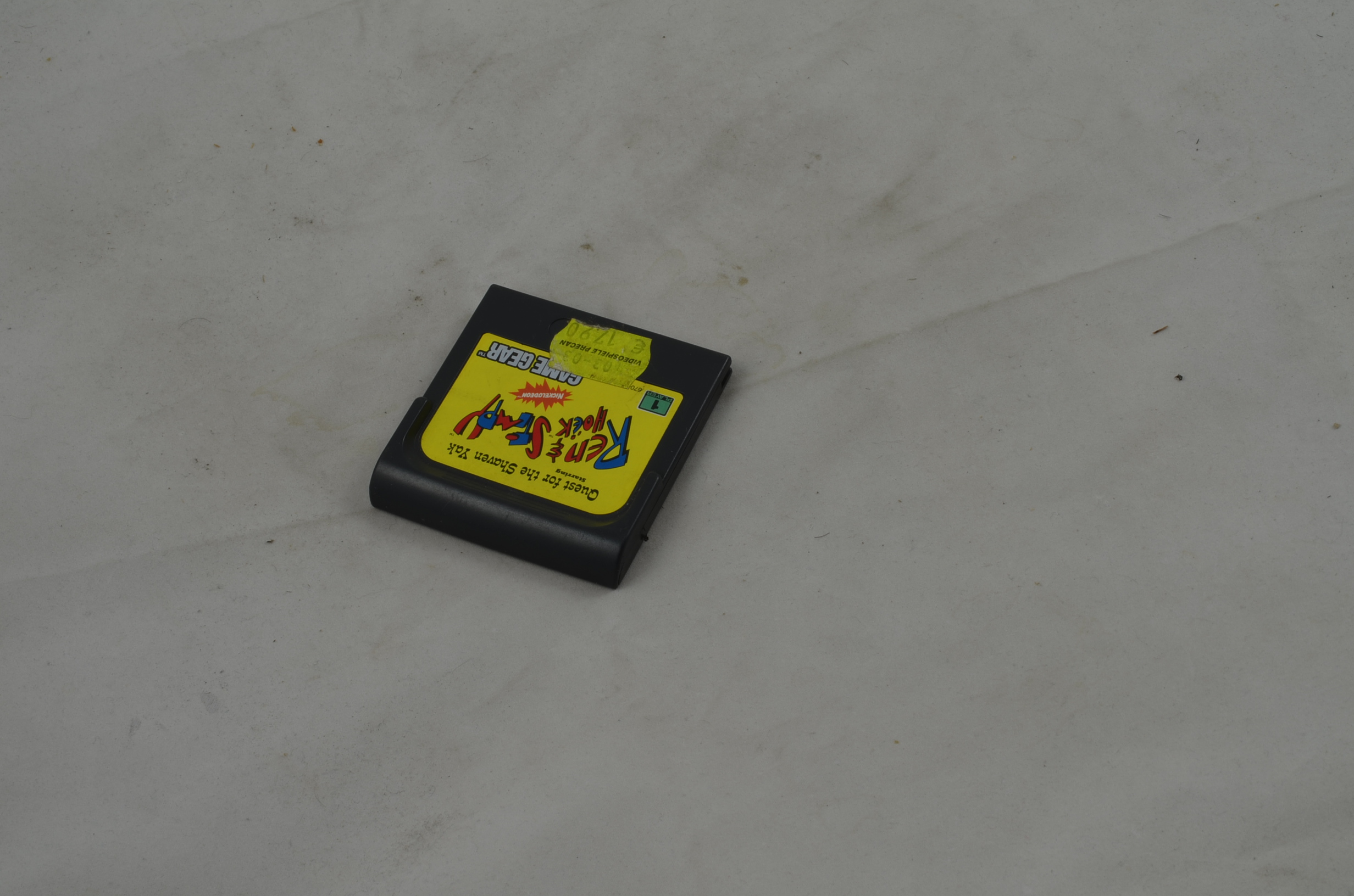 Produktbild von Ren and Stimpy Quest for the Shaven Yak Game Gear Spiel