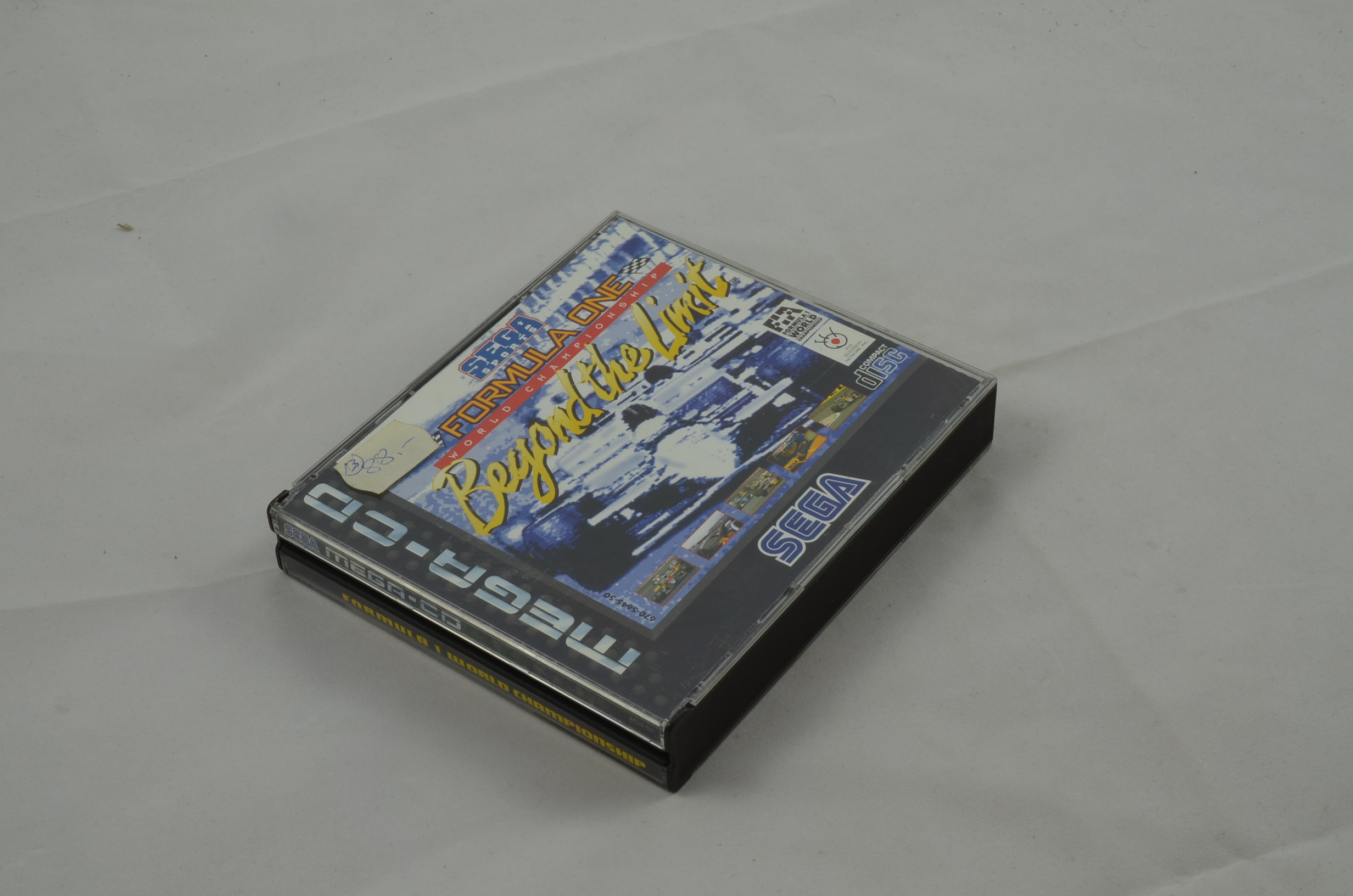 Produktbild von Formula One Beyond The Limit Sega Mega CD Spiel CB (gut)