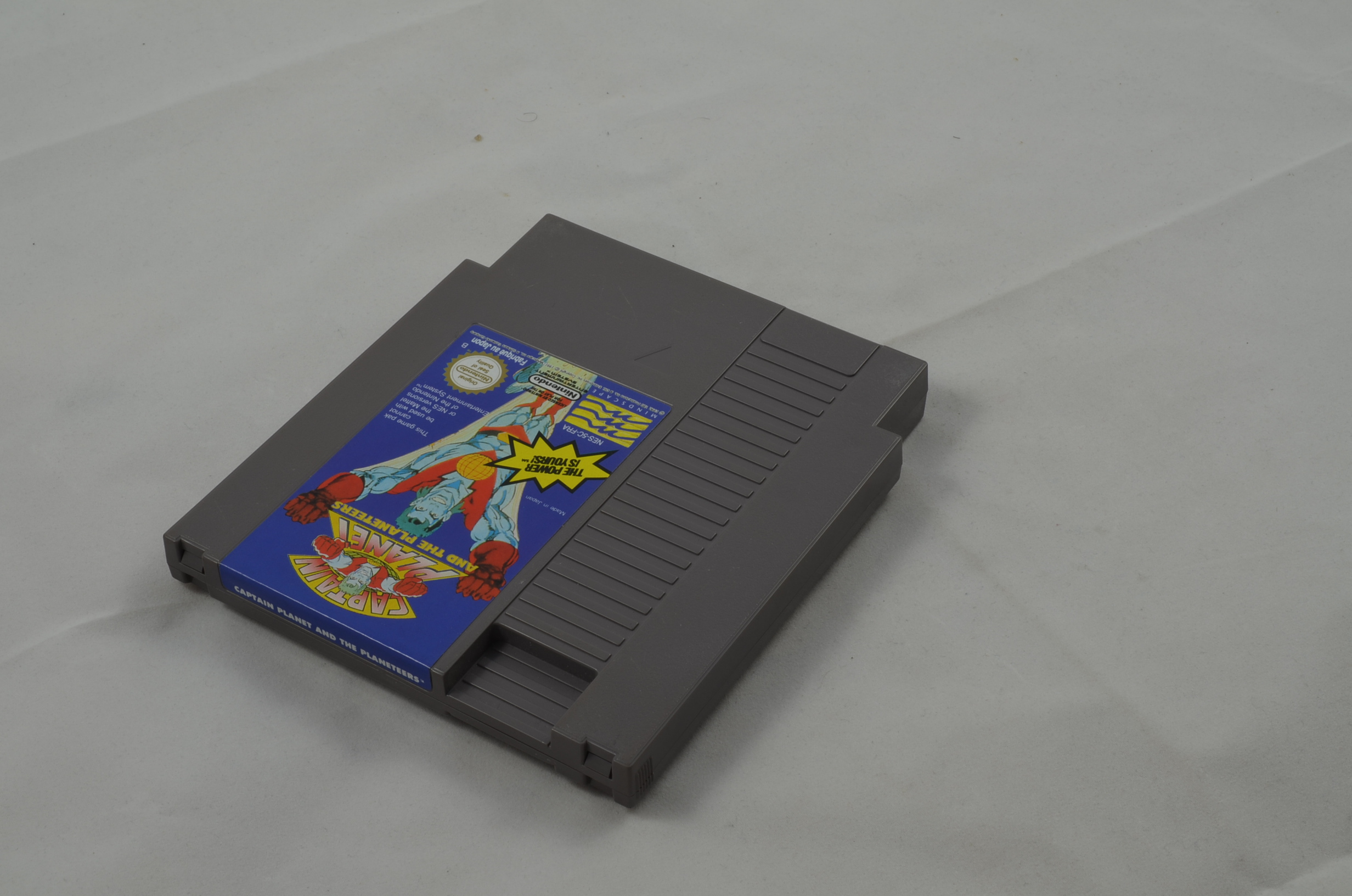 Produktbild von Captain Planet and the Planeteers NES Spiel