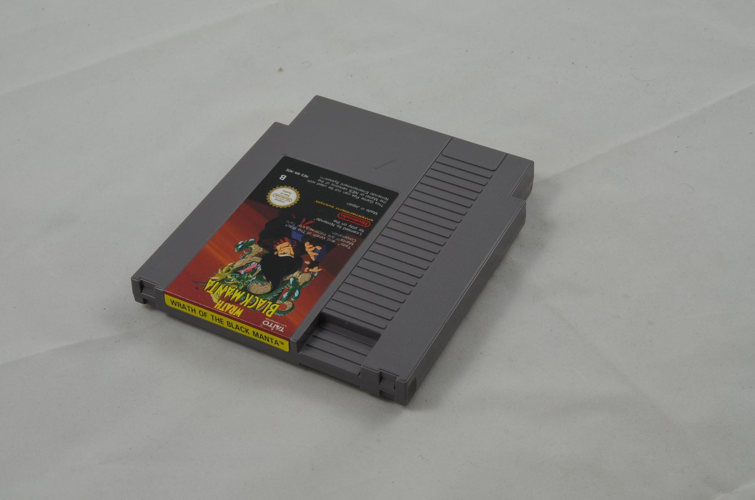 Produktbild von Wrath of the Black Manta NES Spiel