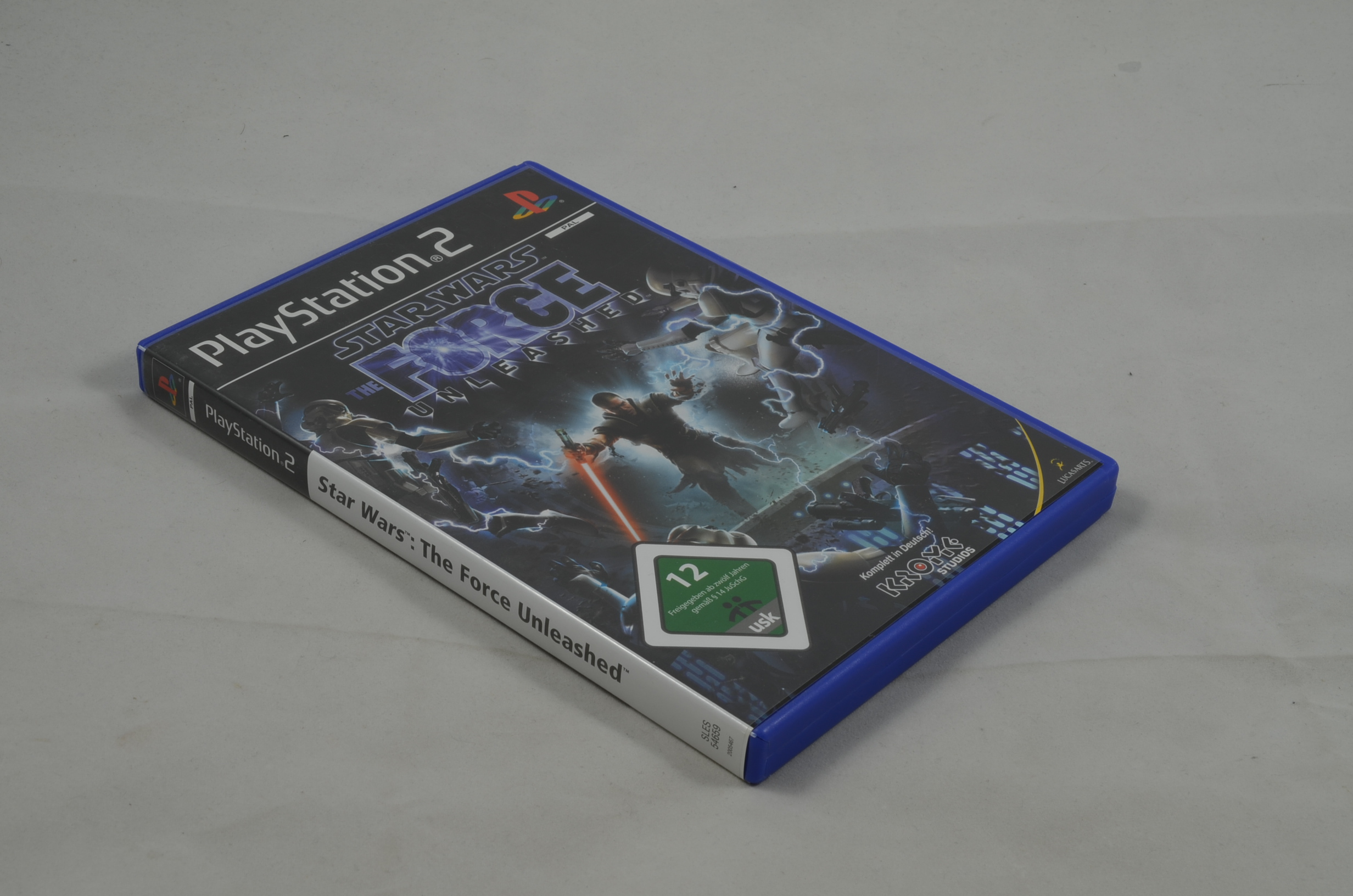 Produktbild von Star Wars The Force Unleashed Box NO GAME KEIN SPIEL